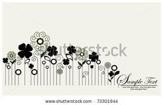 flower illustration,vector design by ImagePlus, via Shutterstock
