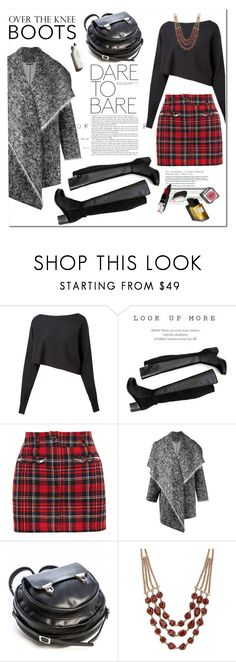 """Rock On: Over the Knee Boots!"" by esch103 ❤ liked on Polyvore featuring Crea Concept, Redopin, Filles à papa, Hellessy, Lucky Brand, Garance Doré and OverTheKneeBoots"