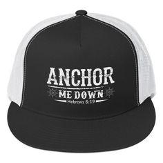 Anchor Me Down Snapback Cap
