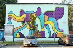 Mattia Lullini - Italian Street Artist - Bergamo (IT) - 2014 -  \*/  #mattialullini #streetart
