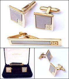Montana Flag Gold-tone Cufflinks Money Clip Engraved Gift Set