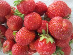Strawberries #fresh #summer #berries #finland