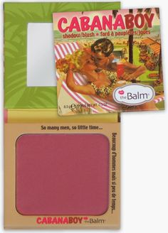 WiscoBeauty: BLOGcember Review: the Balm Cabana Boy Blush
