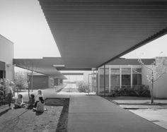 Richard Neutra – photo,Architecture,american,kinder,Richard Neutra,Julius Shulman Pinned by www.modlar.com