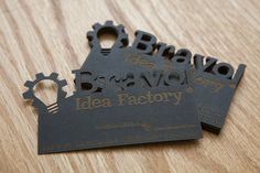 Business Card , Laser Cut and etched.