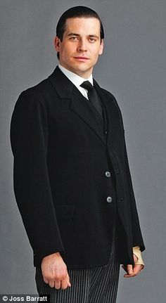 Valet Thomas, played by Rob James-Collier
