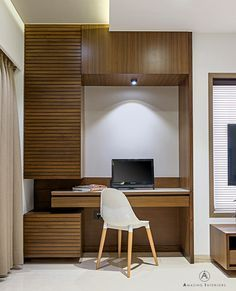 Study Table Design for Bedroom Elegant Revere View On Behance with Images Study Table Designs, Study Room Design, Bedroom Cupboard Designs, Wardrobe Design Bedroom, Bathroom Designs, Home Office Design, Home Interior Design, Office Table Design, Bed Design