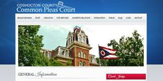 Website for the Coshocton County Common Pleas Court.  www.commonpleas.coshoctoncounty.us
