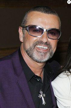 George Michael à l'opéra Garnier à Paris le 9 septembre 2012.