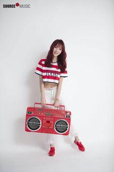 "Gfriend Summer Mini Album ""Sunny Summer"" Photoshoot Behind Cr: Source_Music"