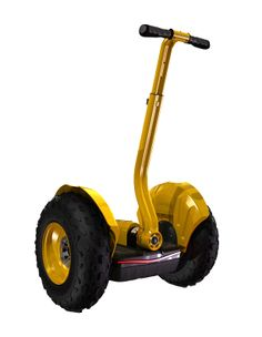 Electric Self-balance scooter, Yellow, more details here http://www.ninebot.com/en/Product_Center/G1X_all_terrain_standard_model/