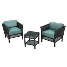 HAMPTON BAY - Fenton 3 Pc. Seating Set - D9131-3-CAN - Home Depot  $489