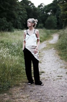 Silky Layers: Creating The Look: #minimal #layers #silky #camisole #lace #photo