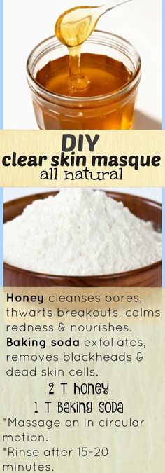 DIY clear skin masque. (All natural)