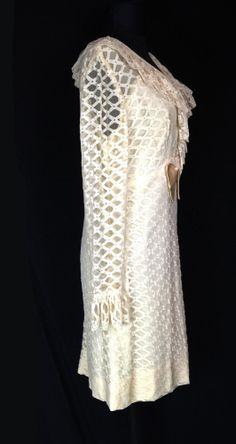 Vintage Dress 1960's Party Dress Prom Wedding by Nightofjoyvintage