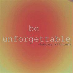 Hayley Williams...