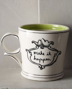 inspirational morning cup of coffee mug #anthrofave http://rstyle.me/n/s47ydr9te