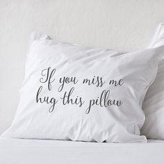 Long distance relationship Pillow Boyfriend Love Gift Long distance Friendship Friend I miss you gifts If you miss me hug this pillow LDR If you miss me hug this pillow (1 piece)   Let into your home a little pillow that will remember you about your friend, boyfriend or girlfriend! That is some special long distance relationship or friendship gift, dont say that you miss your love, just hug the pillow and smile with that! :)  All pillowcases made with love and are 100% handmade. This hand…