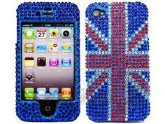Even better! A bedazzled Union Jack case!