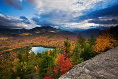 Algonquin y Wright, dos de los más de 40 montes conocidos como High Peaks,