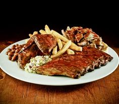 Hard Rock Cafe Hickory-Smoked Bar-B-Que Combo. #yumm #hardrock