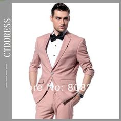 Online Shop Free Shipping High Quality Newly Pink Man Fashion Casual Suits for 2014 Spring and Summer|Aliexpress Mobile