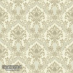 23-326955 Waverly Small Prints Rasch Textil Ornament Tapete braun