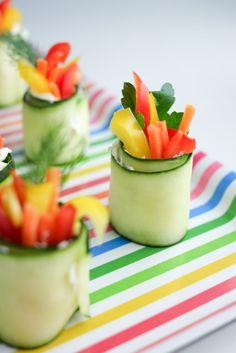Fresh Cucumber Roll-ups | Healthy Ideas for Kids
