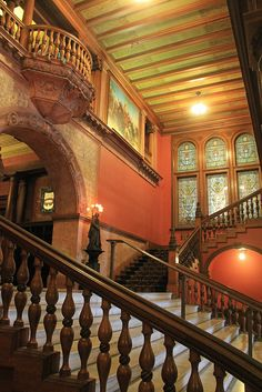 Reminded me of Hogwarts - Flagler College, Saint Augustine, Florida