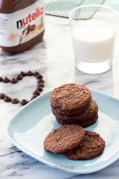 Nutella Chocolate Cookies from Christine's Recipes