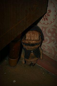 Primitive doll. I love it but man it's creepy!