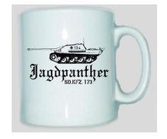 Tasse Jagdpanther Q SD.KFZ 173 / mehr Infos auf: www.Guntia-Militaria-Shop.de