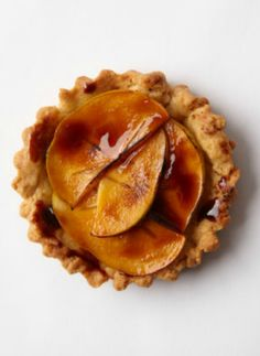 Beautiful Persimmon Tart. A gorgeous dessert that just looks complicated. It's easy and delicious.