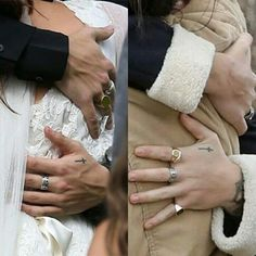he's had that ring for so long. i wonder why;