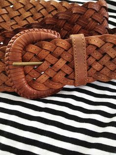 Hand crafted leather belt  Alisa Burke Flickr photostream
