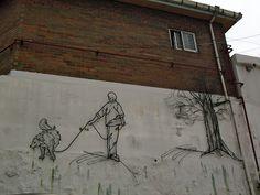 Street-art in Naksan
