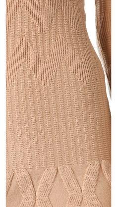 MAISON ULLENS Long Sleeve Sweater Dress