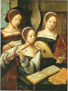 Faro Flautista: The history of the transverse flute - The Renaissance