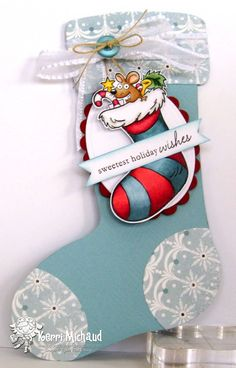 Merry Mouse Stocking : Your Next Stamp
