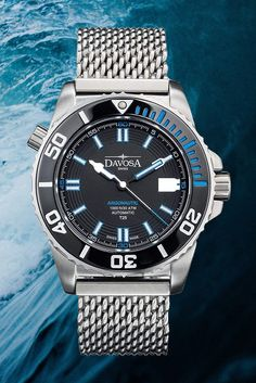 Davosa Argonautic Lumis - Fit Stop Garage Big Watches, Sport Watches, Cool Watches, Engraved Jewelry Box, Dove Men, Automatic Watches For Men, Mechanical Watch, Digital Watch, Fit