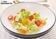 Pici Toscani Con Salsa De Aguacate   Gastronomía & Cía