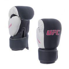 Los Guantes UFC perfecto para ejercicios cardiovasculares y ejercicios de entrenamiento. El material de malla transpirable mantiene la mano cómodo, fresco y seco.