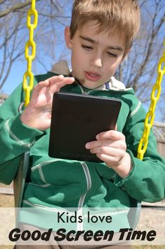 Good screen time ideas for kids!
