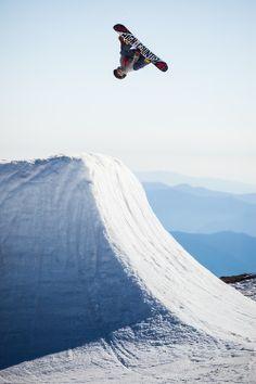 Seth Hill- Coach. High Cascade Snowboard Camp 2013 Mt. Hood, Oregon. Photo: Eddy Densow