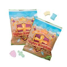 """Mighty Kingdom"" Candy Fun Packs - OrientalTrading.com"