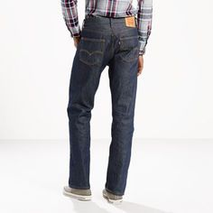 Levi's 501 Shrink-to-Fit Jeans (Big & Tall) - Men's 52x30