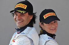 THE WINNERS OF ITALIAN RALLY CHAMPIONSHIP 2012 ...ARE PAOLO ANDREUCCI & ANNA ANDREUSSI - WITH COMPLIMENTS
