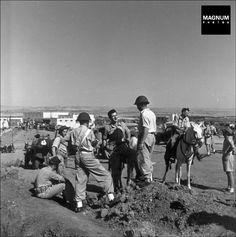 Members of the Haganah, Israel 1948//Robert Capa