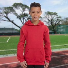 Russell Athletic Youth Dri-Power Fleece Pullover Hood-995HBB