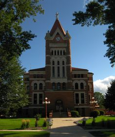 Sioux County Courthouse, Orange City, Iowa.